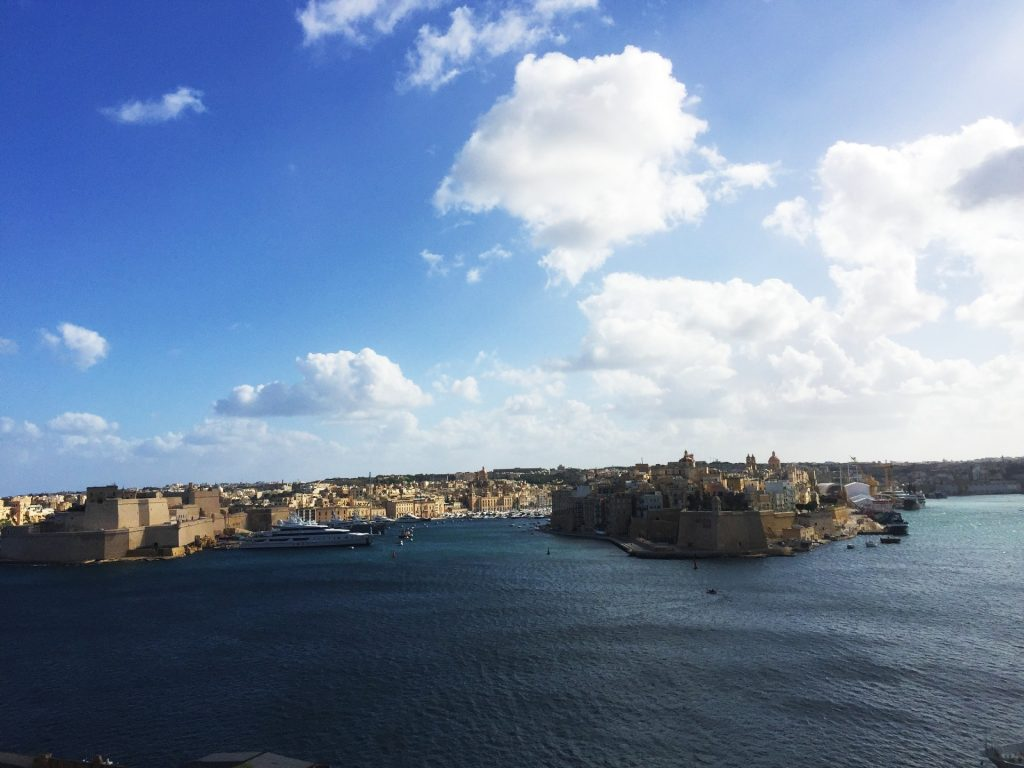The view from Valletta, Malta - One of the best city break destinations in Europe!