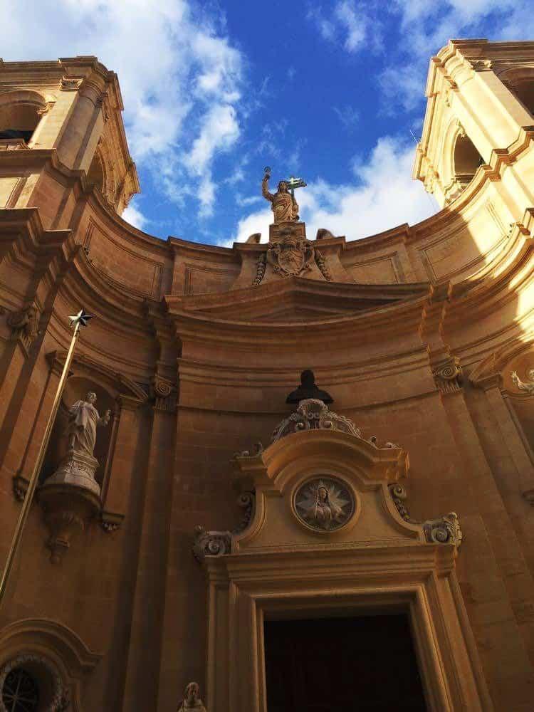 A Church in Valletta, Malta