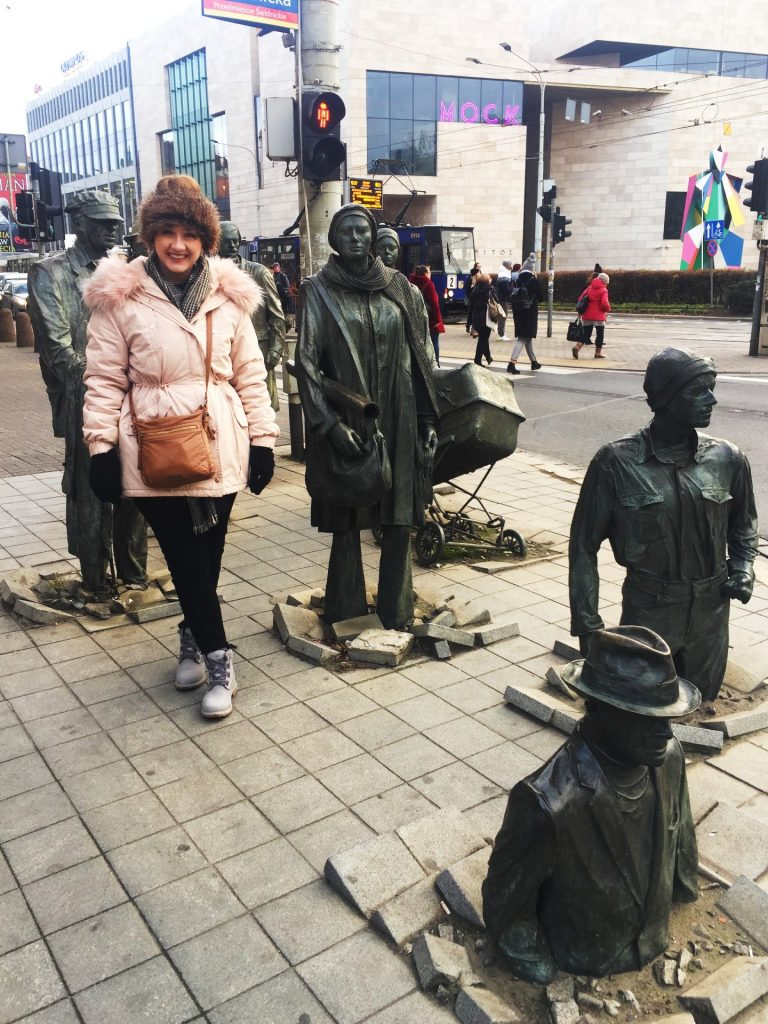 Anonymous Pedestrians in Wroclaw, Poland