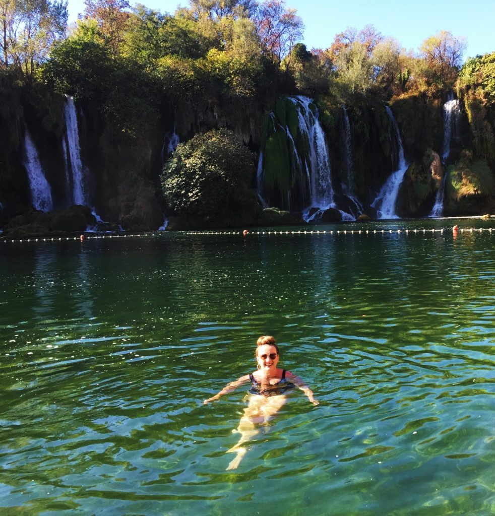 Kravice Waterfalls in Bosnia and Herzegovinia