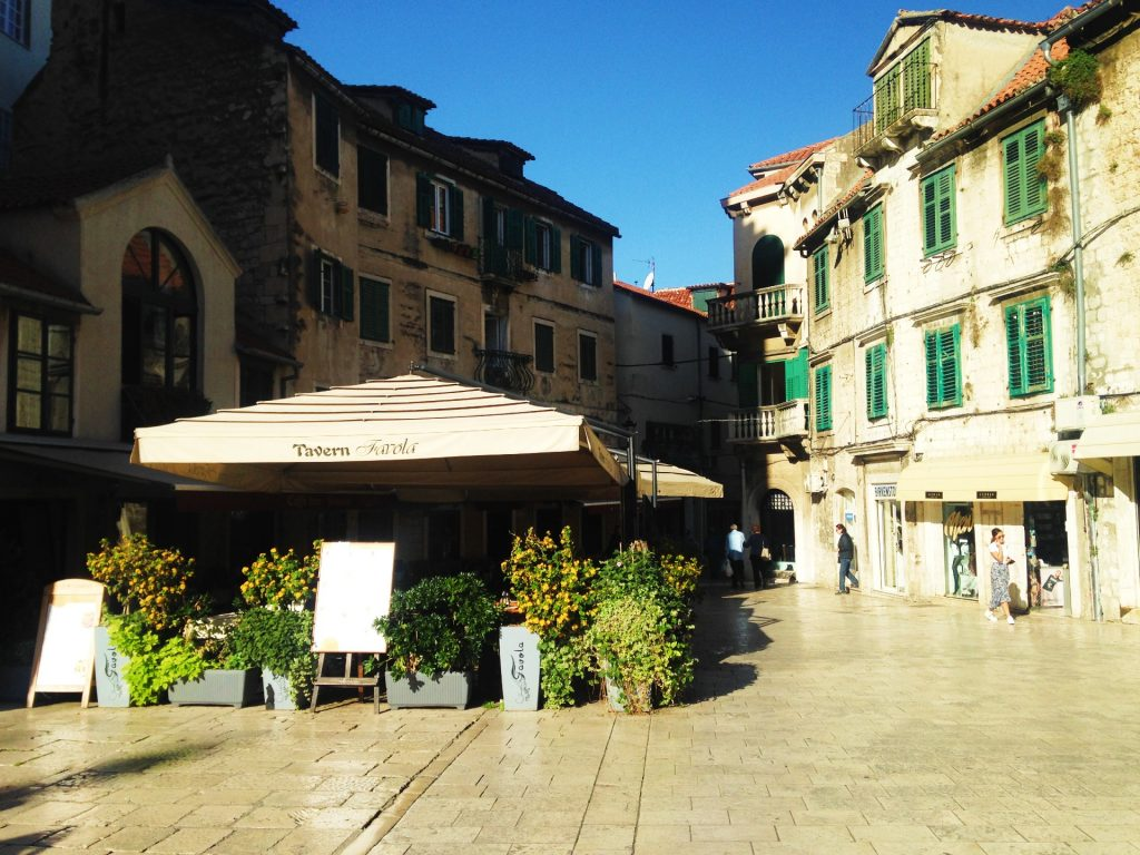 Split Old Town, Croatia - How to get from Split Airport to Split City Centre by Airport Shuttle Bus?