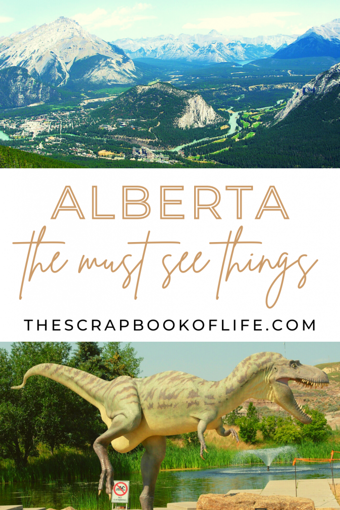 Things to do in Alberta, Canada - Pinterest pin