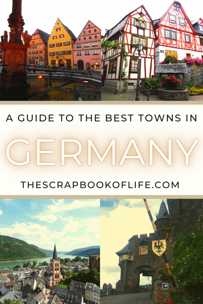 The most beautiful towns in Germany Pin