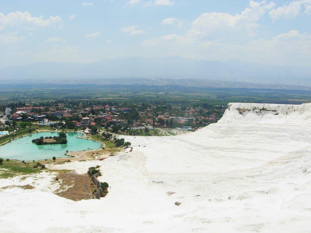 Pamukkale, Turkey - A natural wonder in Europe!