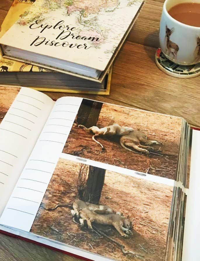 Photo albums - Travel related things to do at home during lockdown!