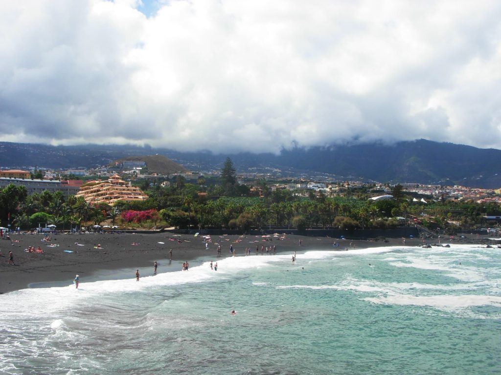 Playa Jardin in Tenerife - A black sandy beach and one of the natural wonders found in Europe!