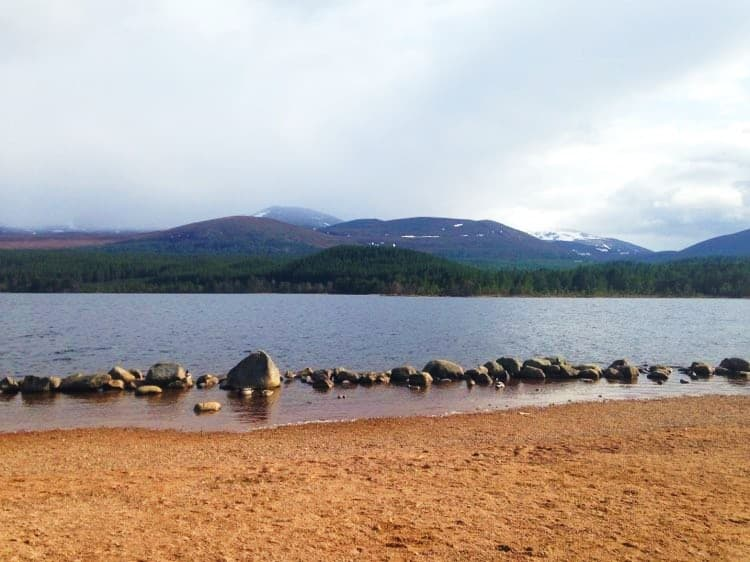 Loch Morlich, The Cairngorms National Park, Scotland