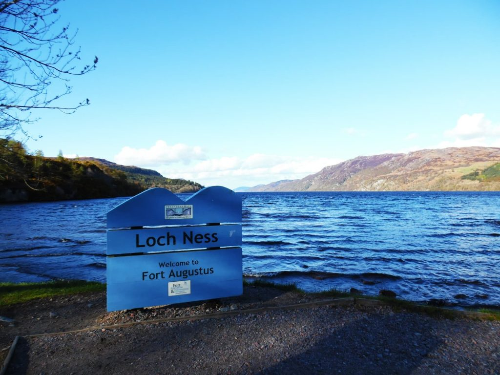 Loch Ness - one of the most beautiful lochs in Scotland!