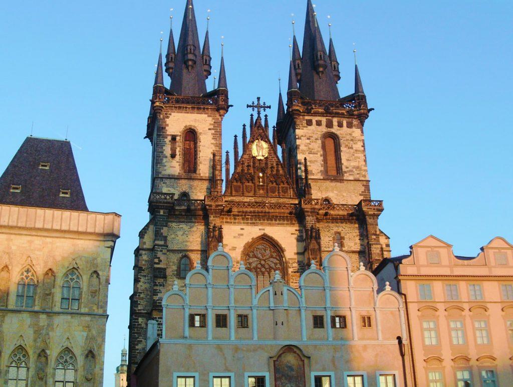 Church of Our Lady before Tyn in Prague, Czech Republic