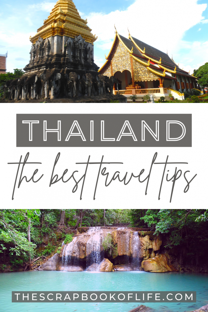 Thailand travel tips Pinterest pin