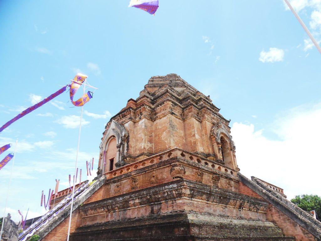 Wat Chadi Luang in Chiang Mai, Thailand