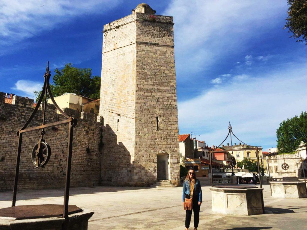 Five Wells Square in Zadar, Croatia - One of the best city break destinations in Europe!