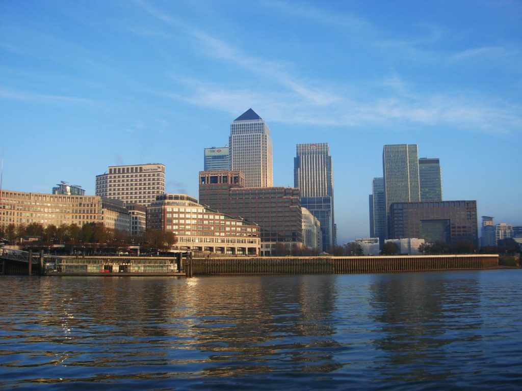 Canary Wharf - 3 days in London