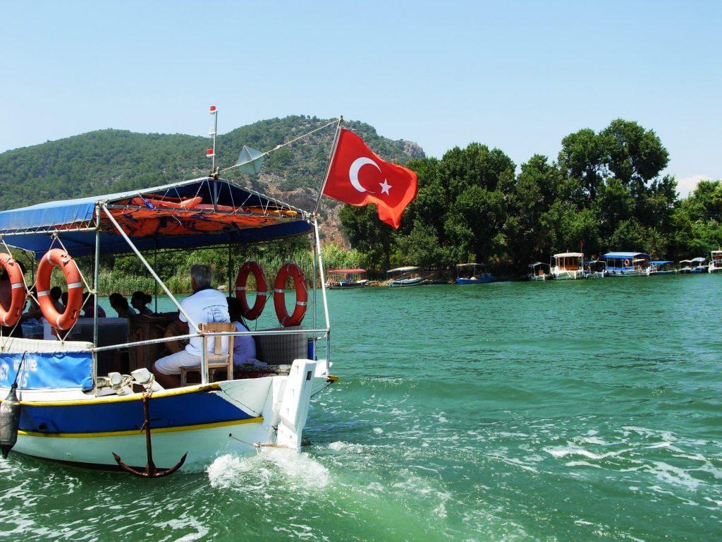 Dalyan River Cruise to Lycian Rocks Tombs in Turkey