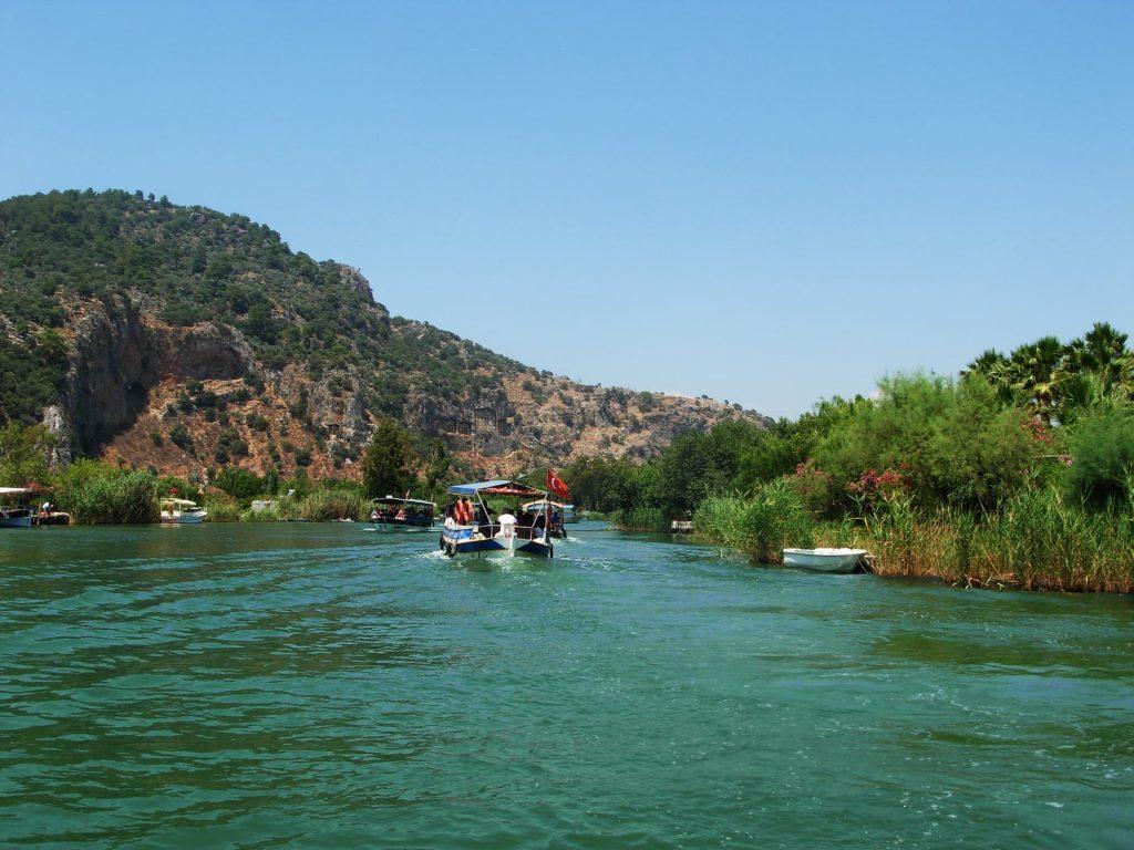 Dalyan River Cruise to Lycian Rock Tombs in Turkey
