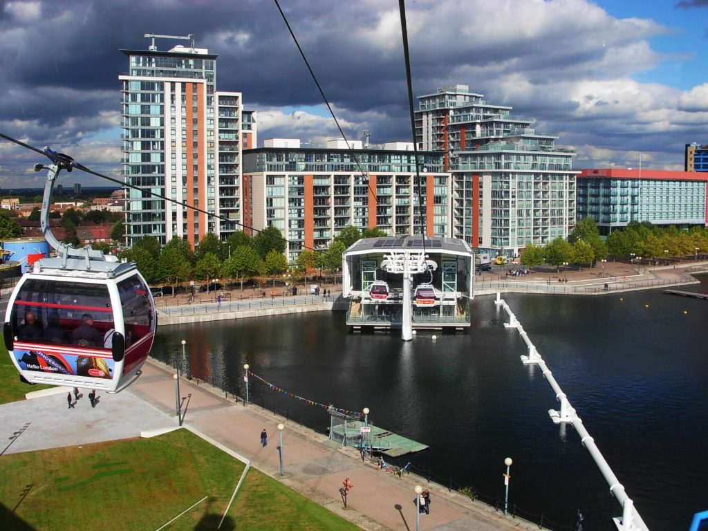 Emirates Air Line - 3 days in London