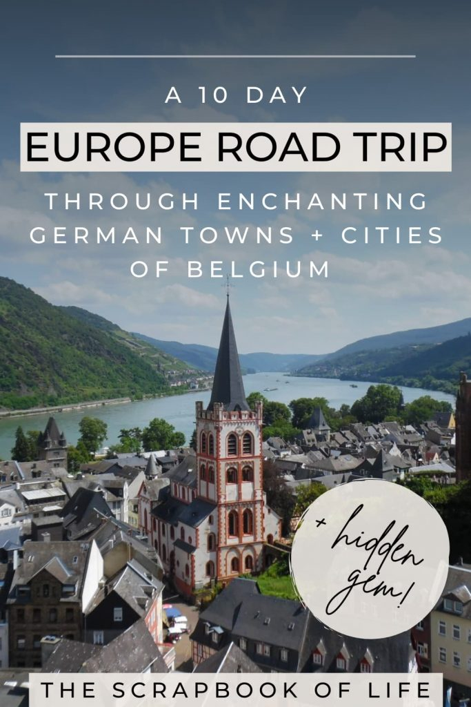 Europe road trip from the UK