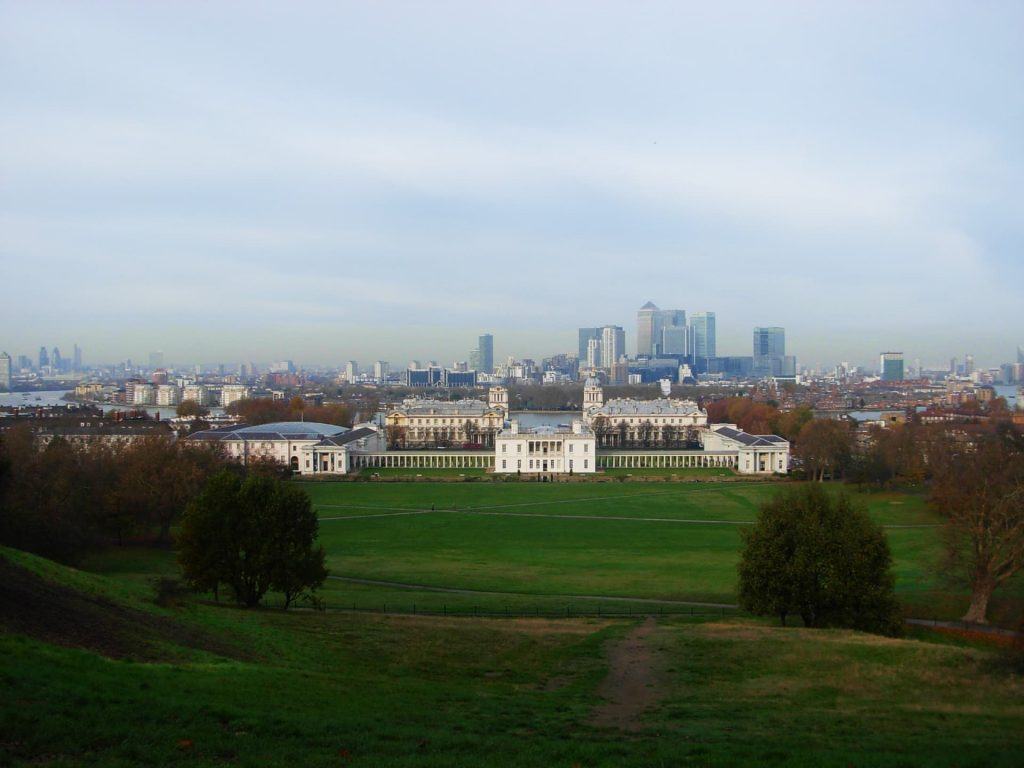 The view over London from Greenwich Park - 3 days in London