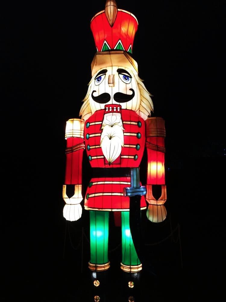 Longleat Festival of Lights, Wiltshire, UK
