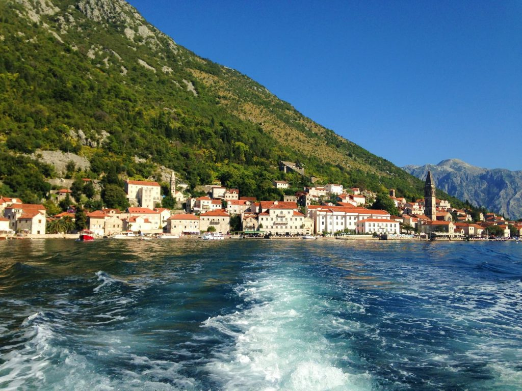The town of Perast in the Bay of Kotor, Montenegro - One of the unique places to visit in Europe!