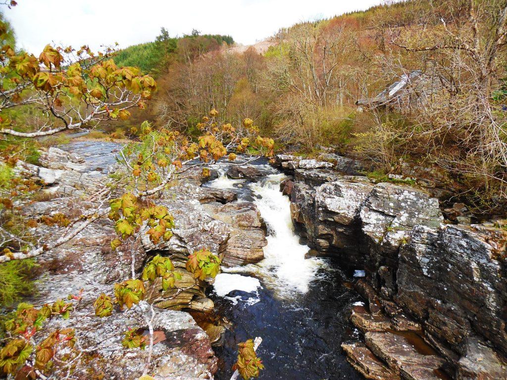Invermoriston Falls - One of the prettiest places in Scotland!