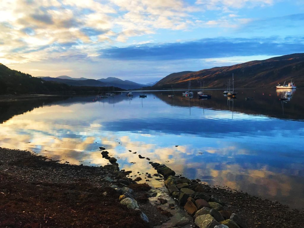 Sunrise over Loch Broom, Ullapool - One of the prettiest places in Scotland!