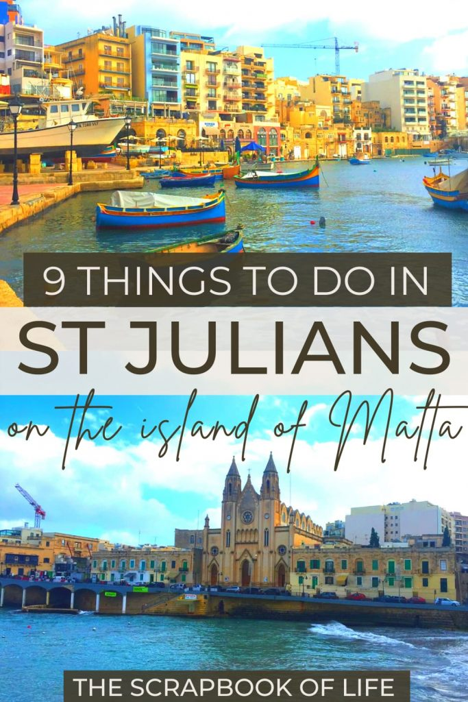 Things to do in St Julians, Malta