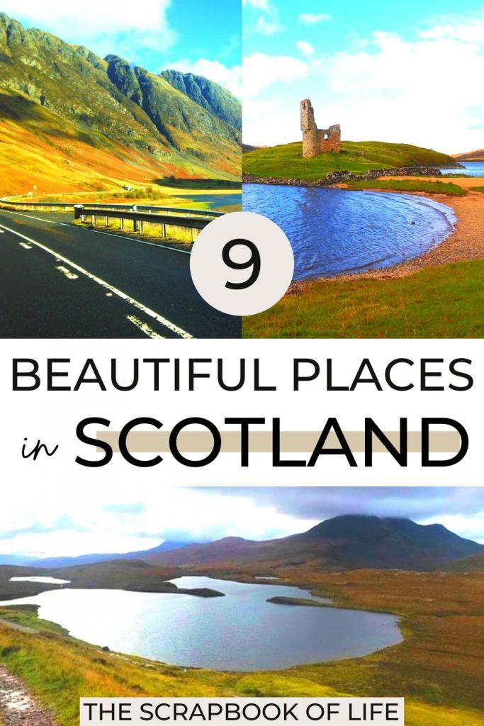 Pretty places in Scotland