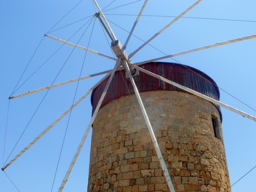 Windmills of Mandraki - Things to do in Rhodes town, Greece