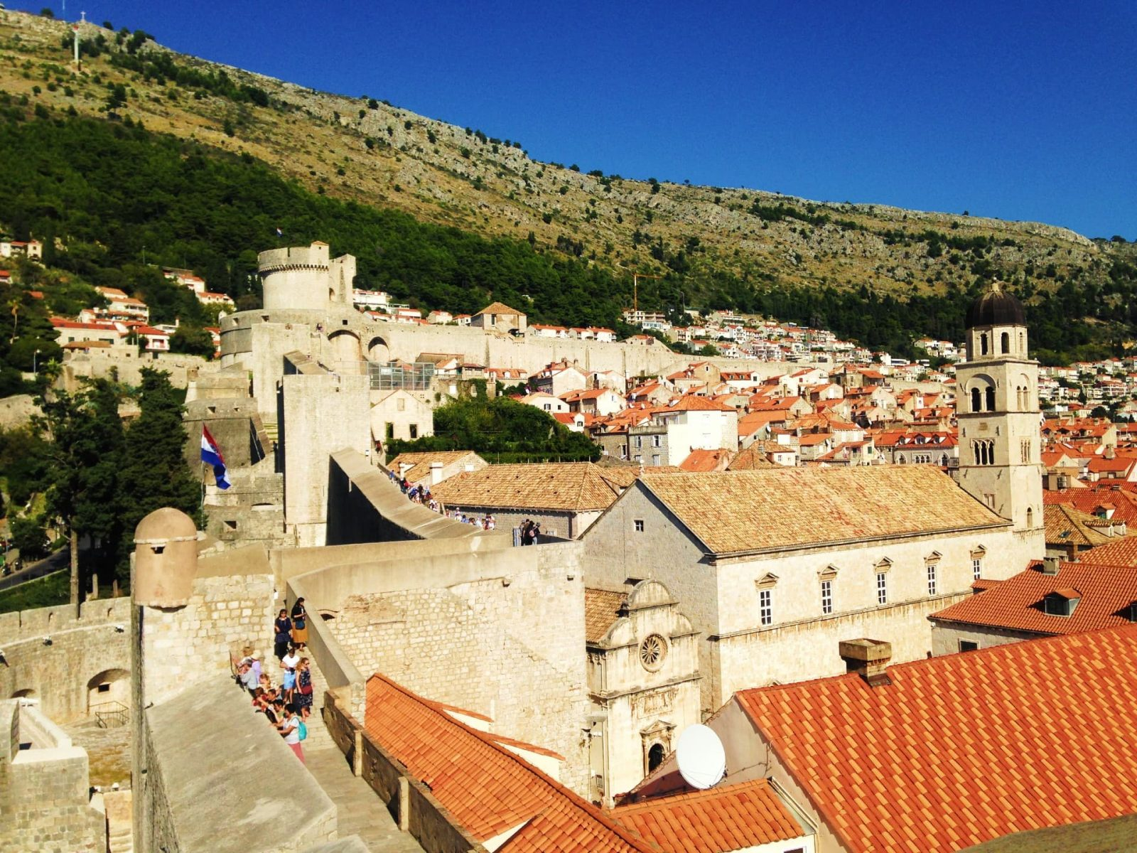 The city walls - Best things to do in Dubrovnik, Croatia