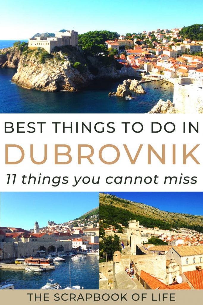 Best things to do in Dubrovnik, Croatia