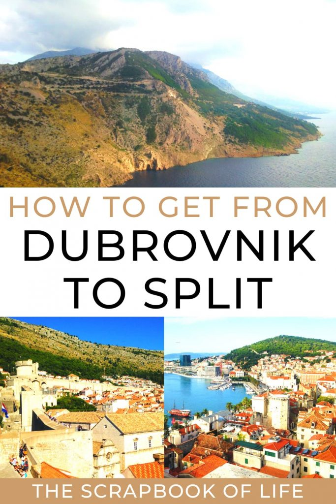 How to get from Dubrovnik to Split?