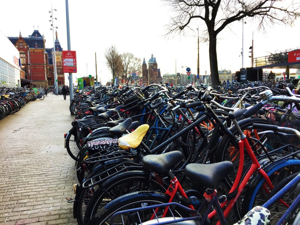 Amsterdam Central Station Bicycle Parking