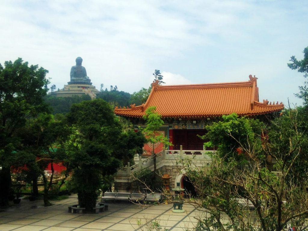 Big Buddha and the Po Lin Monastery in Hong Kong