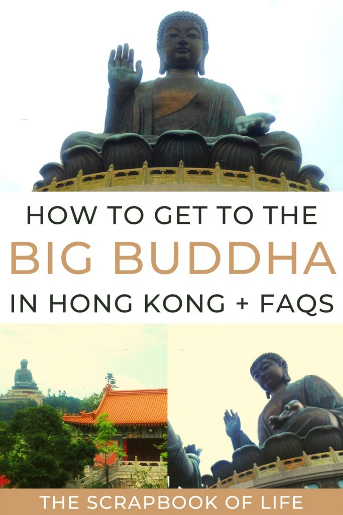 How to get to the Big Buddha in Hong Kong?