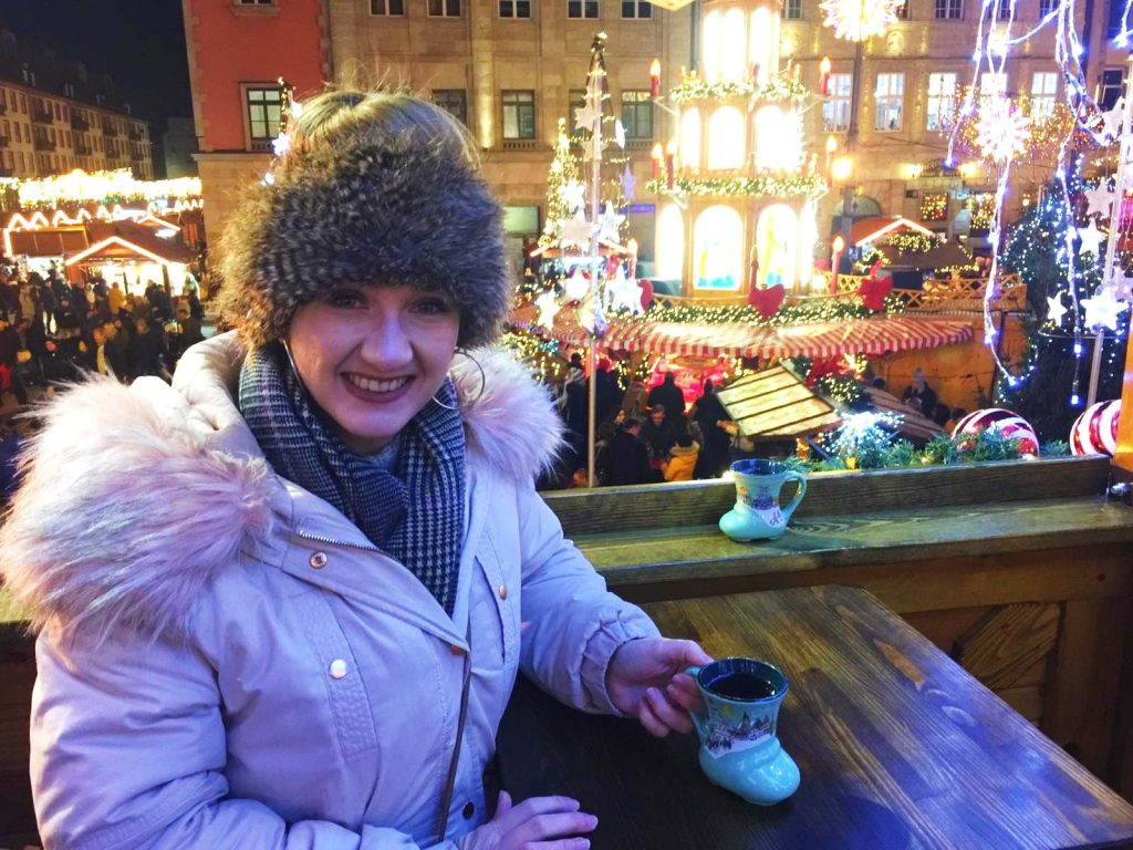 Mulled Wine at Wroclaw Christmas Market, Poland
