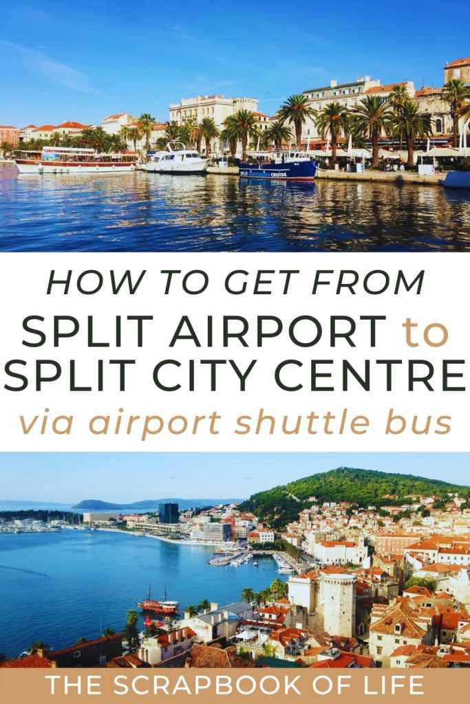 How to get from Split Airport to Split City Centre by bus?